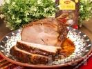 Рецепта Печен свински врат без кост на фурна с бяло вино и подправки